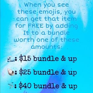 🌊🐚🐬 FREE WITH BUNDLE!